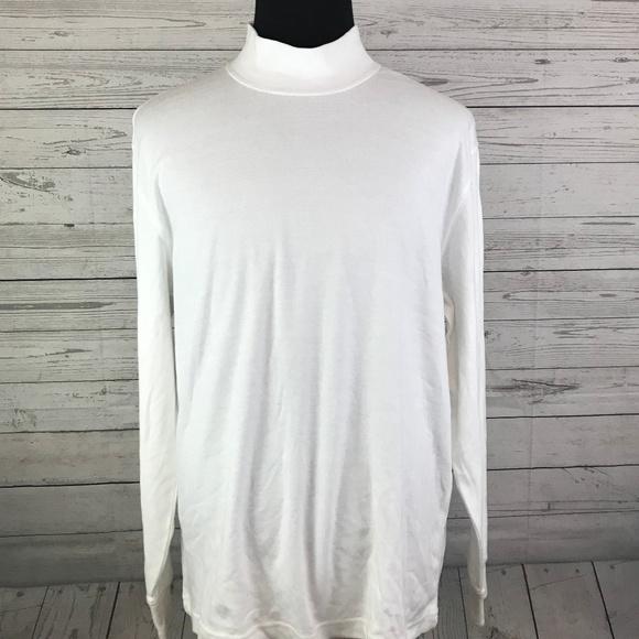 John/'s Bay Mens Thermal Underwear Shirt Tops Base Layer Long Johns Crew Neck T-Shirt Cut St